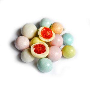 Вишня в  разноцветной сахарной корочке (упак.3кг)