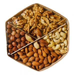 Ассорти праздничное: орехи