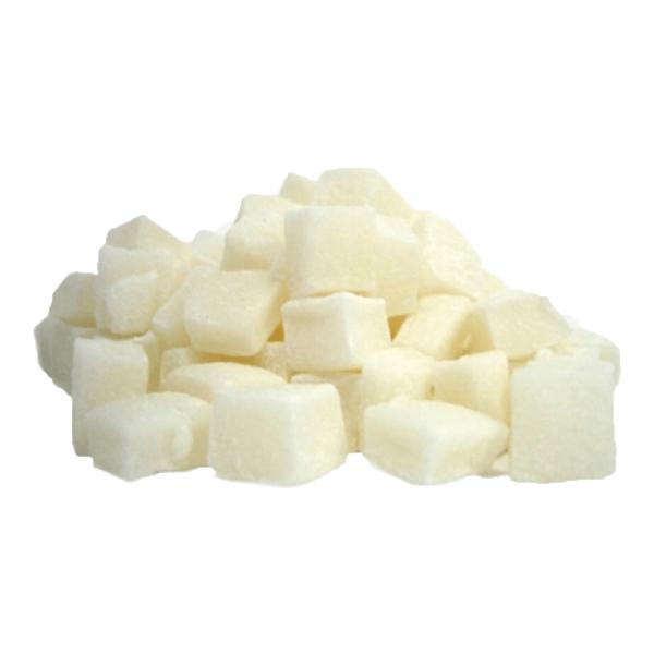 Кокос цукат кубик