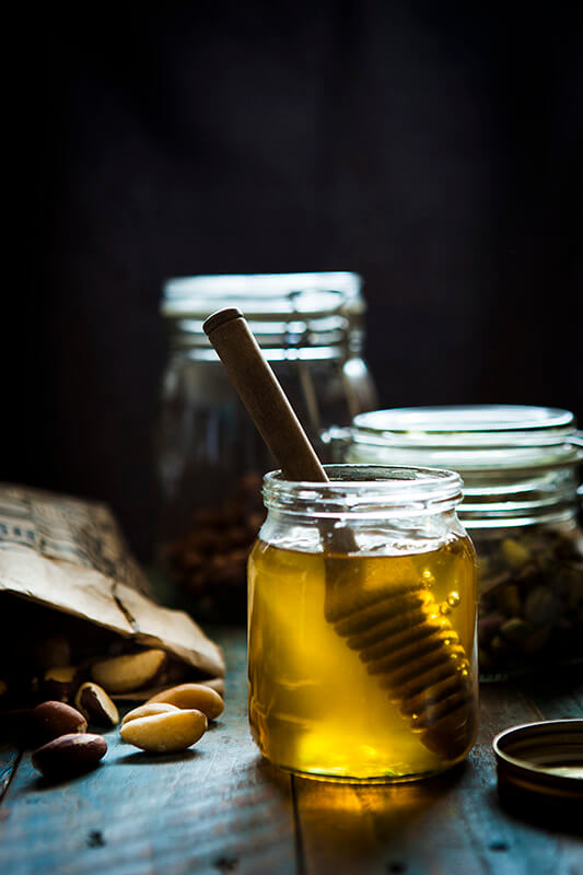 Орехи с медом творят чудеса