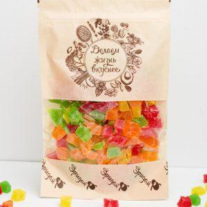 АНАНАС цукаты кубик микс, 180 гр.