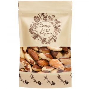 БРАЗИЛЬСКИЙ орех-ядро, Бразилия, 180 гр.