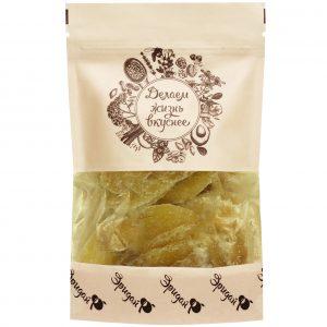 ИМБИРЬ цукаты листики, 180 гр.